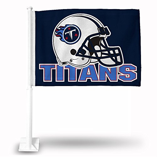 Rico Industries NFL Tennessee Titans Car Flag
