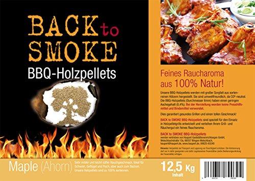Grill Pellets Back to Smoke Maple 12,5 kg