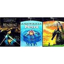 Miyazaki 3-Movie Pack (4-DVD): Princess Mononoke ~ Tales From Earthsea ~ Ponyo
