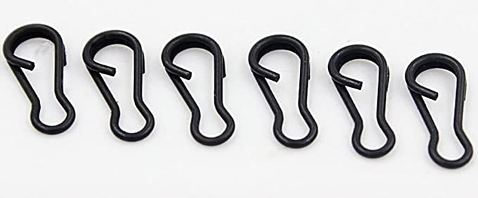 Details about  /20x Quick Change Swivels Size Carp Fishing Tackle Rig Link Hook Connector Tools