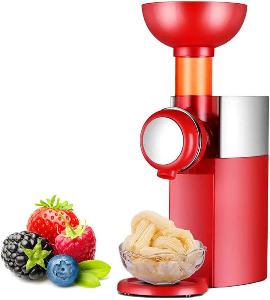 XINGXINGNS Mini Ice Cream Maker, Frozen Yogurt Dessert Sorbet Gelato Machine, Easy to Clean with Anti Skid Bottom, for Homemade Desserts, Great for Making Healthy Soft Serve Sherbet
