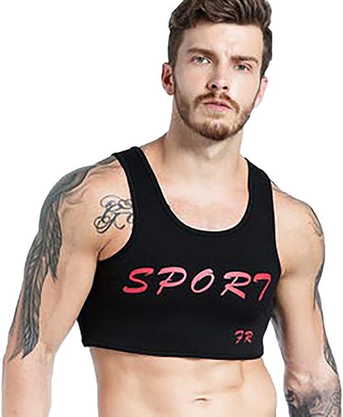 Sallydream Camiseta de Tirantes para Hombres Hombre Baloncesto Balompié Fútbol Entrenamiento con Pesas Deportes Chaleco Protector de Pecho Chaleco para Hombre: Amazon.es: Deportes y aire libre