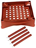Emsco Group 2400D Turns City Picker Into Raised Bed Garden Grow Box Accessory, Terracotta
