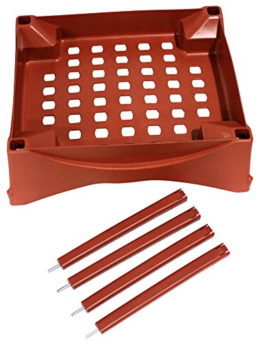 Emsco Group 2400D Turns City Picker Into Raised Bed Garden Grow Box Accessory, Terracotta by Emsco Group