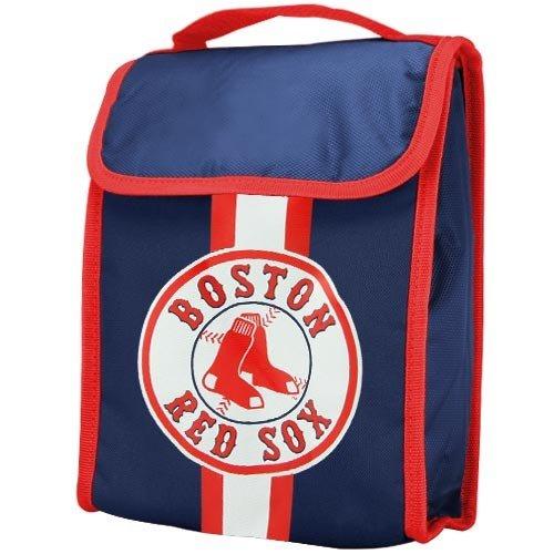 MLB Boston Red Sox Velcro Lunch Bag (Bag Gift Sox)