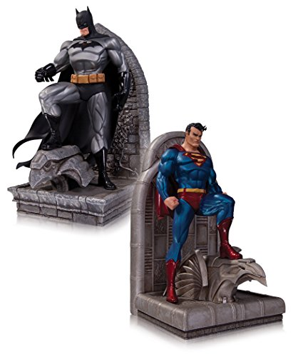 DC Comics Superman and Batman Bookends – Limited edition