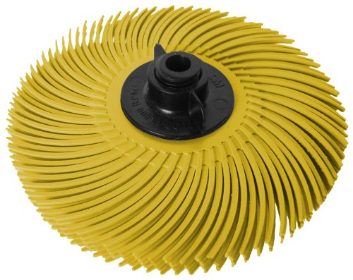 Jooltool 3M Scotch-Brite Yellow Radial Bristle Brush Asse...