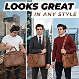 Luxorro Laptop Bag For Men | Soft, Messenger Bag