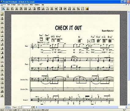 Amazon.com: Finale PrintMusic 2010 [Old Version]