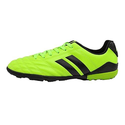 hibote Zapatos de Entrenamiento de fútbol de los Hombres Zapatillas de fútbol para Hombres Chicos Botas de fútbol al Aire Libre Zapatos de fútbol ...