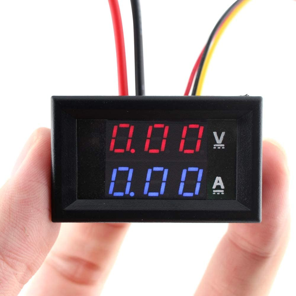SMAKN/® Dual Display USB Voltage and Current Detector(0.28 LED Red)