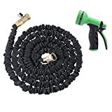 Best Garden & Patio Garden Hoses - Expandable Hose,AOLVO Flexible Garden Pipe 25ft/50ft/75ft/100ft with 8-Pattern Review