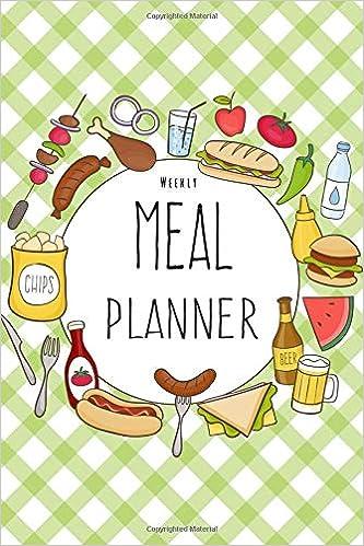 amazon weekly meal planner 52 weeks food planner grocery list