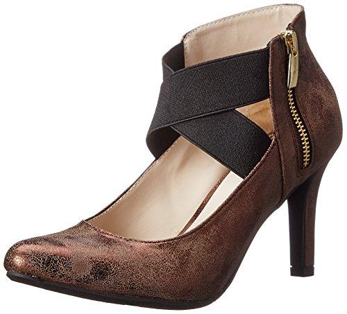 Madeline Open Toe Sandals - Madeline Women's Very Good Dress Pump, Ranch Mink, 8.5 M US
