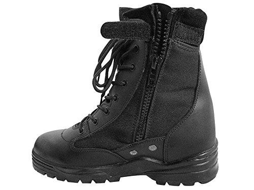 style rapide combat Outdoor Chaussures 37–47 bottes avec bottes de travail Noir McAllister de Boots Army securitystiefel fermeture Patriot 4qFIw