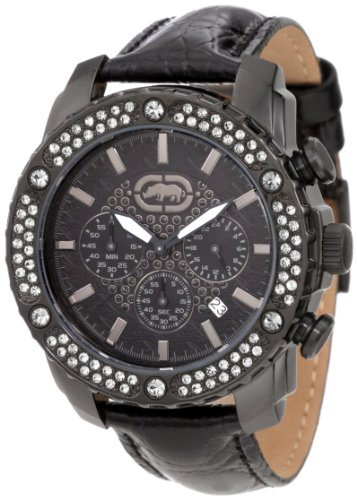 Marc Ecko Men's E17596G1 The Fortune Leather Watch
