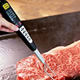 Ciamlir Smart Digital Meat Thermometer -Instant Probe Read-Best 5 BBQ Cooking Program-LCD Screen