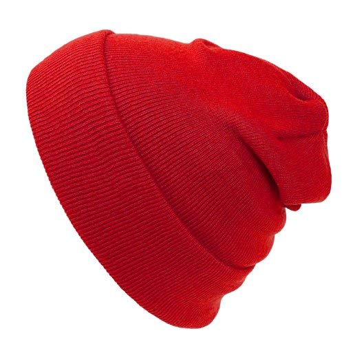 Cap911 Unisex Plain 12 inch long Beanie - Many - Stripe Usa Beanie Classic