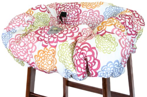 itzy-ritzy-sitzy-shopping-cart-and-high-chair-cover-fresh-bloom