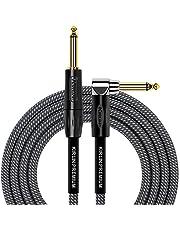 KIRLIN Cable de instrumento de ángulo recto a recto, ca, 10 feet