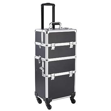 Amazon.com: Estuche organizador 3 en 1 de aluminio para ...