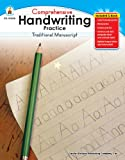 img - for Comprehensive Handwriting Practice: Traditional Manuscript, Grades K - 1 book / textbook / text book