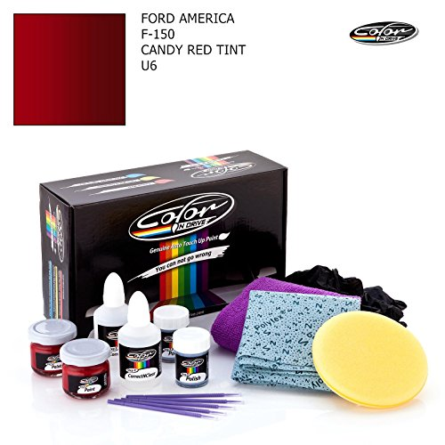 FORD AMERICA F-150 / CANDY RED TINT - U6 / COLOR N DRIVE TOUCH UP PAINT SYSTEM FOR PAINT CHIPS AND SCRATCHES / BASIC - Tint Color Code