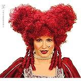 Blood red Baroque vampiress Wig (peluca)