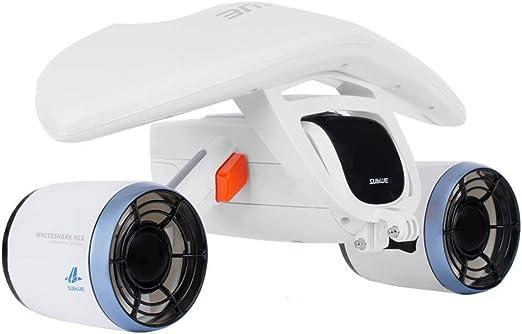 SUBLUE WhiteShark Mix Scooter Submarino de mar Motores duales con Soporte de cámara de acción: Amazon.es: Juguetes y juegos