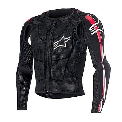 Image of Alpinestars 2019 Bionic Plus Protection Jacket (Medium) (Black/RED) Jackets
