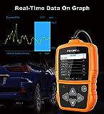 FOXWELL NT201 OBD2 Scanner Check Engine Light Car