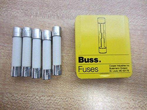 Bussmann ABC-25 Buss 25A 125V Fuse ABC25 (Pack of 5)