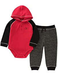 Baby Boys' 2 Pieces Bodysuit Pant Set