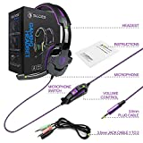 PS4 Gaming Headset with Mic Volume Control, SADES