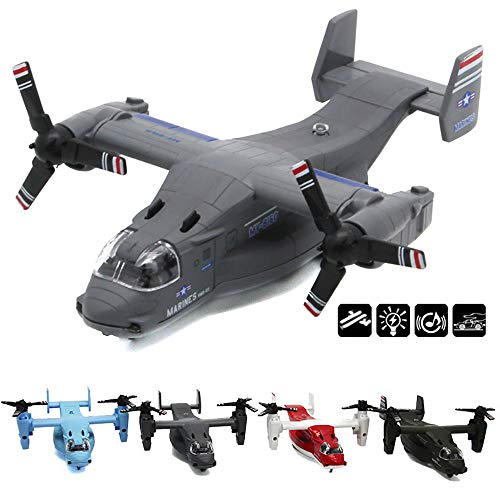CORPER TOYS Aircraft Toy Die Cast Model Air Plane Military Air Force Fighter Jet Transport Aeroplane Airfreighter Collection Display Gift for Kids Boys Girls Children