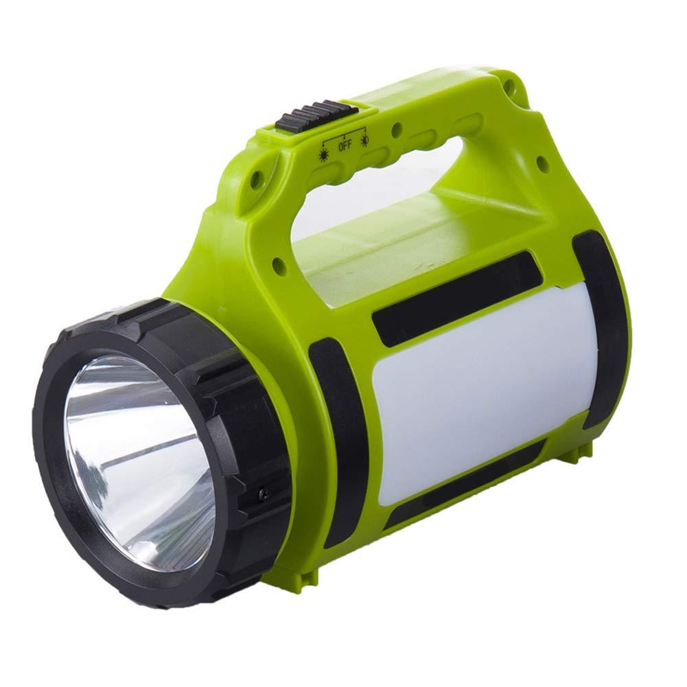 Tragbare Suchscheinwerfer Im Freien Hochleistungsblendungs-Taschenlampe Wieder Aufladbares Led Multifunktionscampinglicht