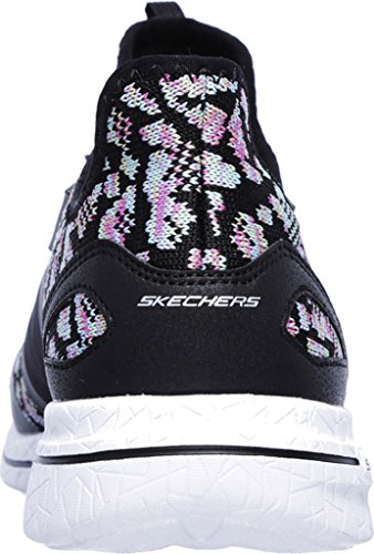 2 Noir Femme Skechers Formateurs Changing 0 Multicolore Burst Game Sxxf61