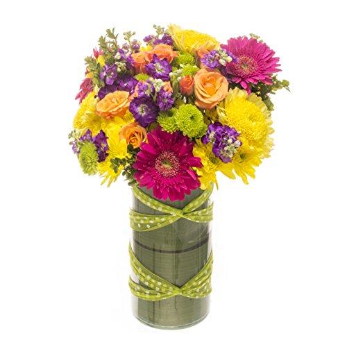 eFlowy - Happy Birthday Vase Floral Arrangement by eFlowy
