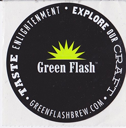 (Green Flash Brewing Company - Logo Sticker)