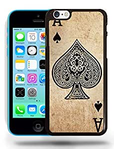 Retro Vintage Ace of Spaces Phone Case Cover Designs for iPhone 5C