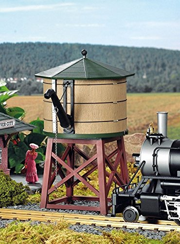 Piko G Scale Train Building River City Water Tower Built-Up 62710 ()