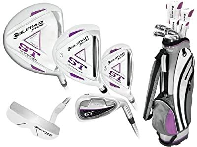 Orlimar Ladies Right or Left Hand ST Golf Club Set w/Ladies Cart Bag + Driver + 3 Wd + Hybrids + 6-PW + Free Putter; Petite, Regular or Tall Length; Fast Shipping from AGXGOLF BY ORLIMAR
