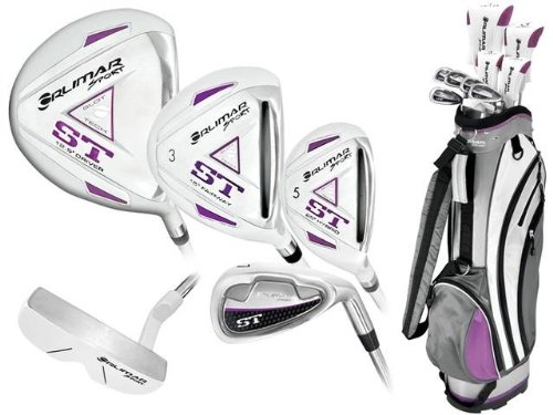 New Orlimar Ladies Right or Left Hand ST Golf Club Set w/Ladies Cart Bag + Driver + 3 Wd + Hybrids + 6-PW + Free Putter; Petite, Regular or Tall Length; Fast Shipping