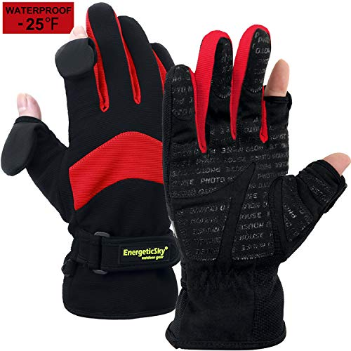 EnergeticSky Waterproof Winter Gloves3M