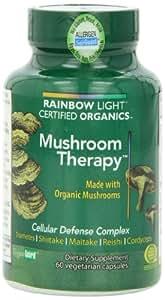 Rainbow Light Mushroom Therapy, 60 Vegetarian Capsules