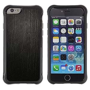 Paccase / Suave TPU GEL Caso Carcasa de Protección Funda para - Black Dripping Paint Modern Art Random - Apple Iphone 6 PLUS 5.5