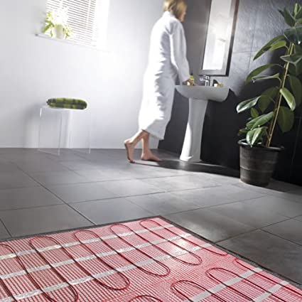 Enjoyable Milano Electric Underfloor Heating Mat For Tiles 2 5 Sqm 150W Per M2 25 Year Guarantee Home Interior And Landscaping Staixmapetitesourisinfo