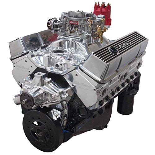 Edelbrock 46411 Performer 363 Hi-Torq Crate Engine 9.0:1 Compression 353HP/405Torque PerformerEPSVortecManifold/750 CFM Performer Series Carb Elec.Choke w/Short WaterPump PN[8810] Polished Performer 363 Hi-Torq Crate Engine ()