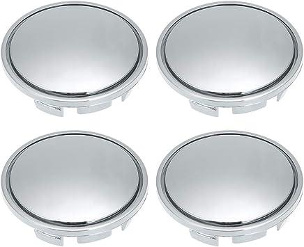 4 Tapas de buje para la mayor/ía de los Coches ABS 56 mm Universal KKmoon