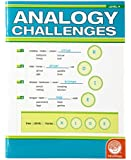 MindWare - Analogy Challenges: Level A - 50 Analogy Puzzles - Great for Helping With Standardized Tests - Challenging and Rewarding - Grades 3-5